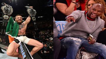 Conor McGregor berencana melawan Floyd Mayweather.