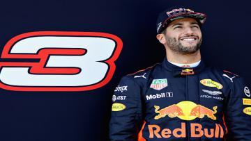 Pembalap Red Bull, Daniel Ricciardo.