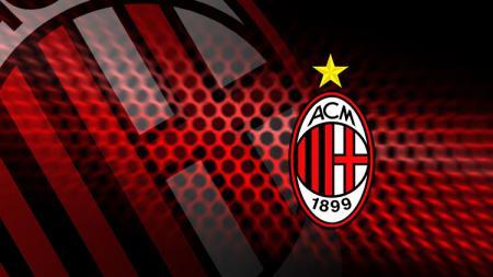 Logo AC Milan. - INDOSPORT
