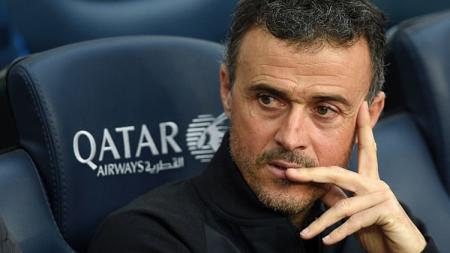 Pelatih Barcelona, Luis Enrique memastikan mundur musim ini. - INDOSPORT