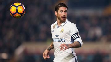 Pemain belakang Real Madrid, Sergio Ramos.