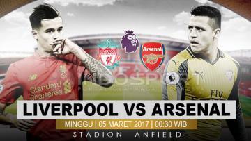 Liverpool vs Arsenal.
