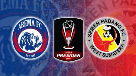 Susunan pemain Arema FC vs Semen Padang. - INDOSPORT