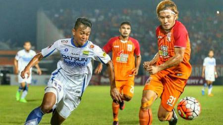 Pusamania Borneo FC taklukkan Persib Bandung 2-1 di Stadion Segiri, Samarinda. - INDOSPORT