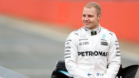 Pembalap Formula 1 tim Mercedes, Valtteri Bottas. - INDOSPORT