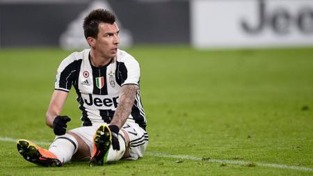 Penyerang Juventus, Mario Mandzukic. - INDOSPORT