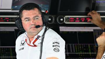 Eric Boullier, Direktur McLaren Racing Formula 1.