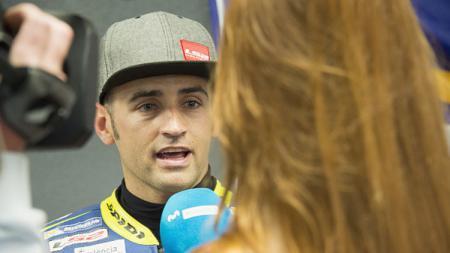 Pembalap tim Avintia Racing Ducati, Hector Barbera. - INDOSPORT