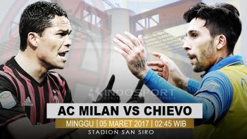 AC Milan vs Chievo.