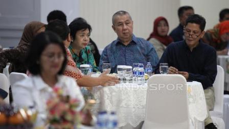 Ketua Umum Perbasi, Danny Kosasih hadir pada acara Konsolidasi Persiapan SEA Games 2017 dan Asian Games 2018.