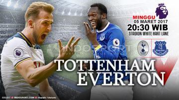 Prediksi Tottenham vs Everton.
