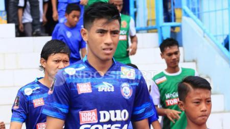 Pemain Arema FC, Hanif Sjahbandi. - INDOSPORT