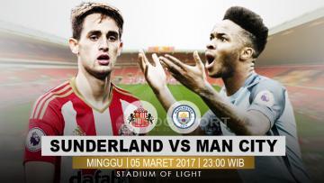 Sunderland vs Manchester City.