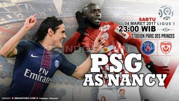 Prediksi Paris Saint-Germain vs Nancy.