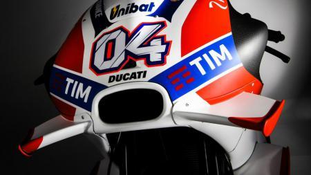Winglet di motor Ducati musim 2016 lalu. - INDOSPORT