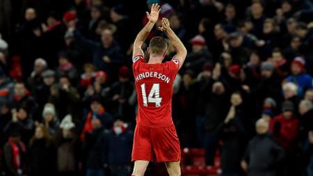 Kapten Liverpool, Jordan Henderson. - INDOSPORT