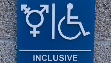 Toilet Transgender dan penyandang disabilitas nantinya akan bebarengan.