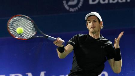 Andy Murray melangkah ke babak kedua Madrid Terbuka 2017. - INDOSPORT