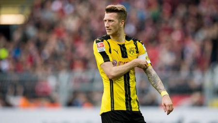 Marco Reus akhirnya cetak gol untuk Borussia Dortmund, saat ia tampil di ajang DFB-Pokal melawan MSV Duisburg. - INDOSPORT
