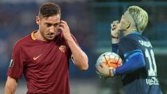 Indosport - Francesco Totti dan Cristian Gonzales
