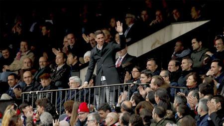 Fernando Torres hadir memberikan dukungan untuk Atletico Madrid. - INDOSPORT