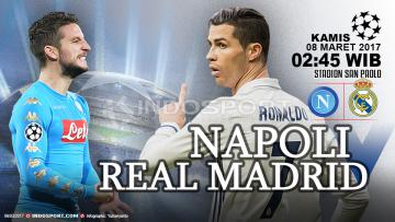 Prediksi Napoli vs Real Madrid.