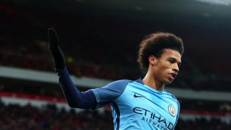 Leroy Sane dilaporkan bakal dilepas Manchester City ke Bayern Munchen. - INDOSPORT