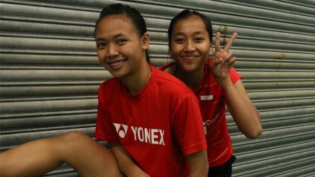 Della Destiara Haris/Rosyita Eka Putri jadi satu-satunya wakil ganda putri Indonesia di ajang Swiss Terbuka 2017. - INDOSPORT