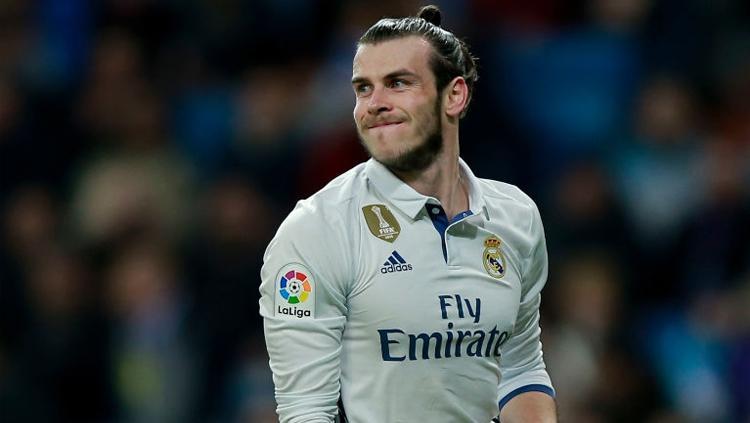 Bale di laga melawan Las Palmas. Copyright: Gonzalo Arroyo Moreno/Getty Images