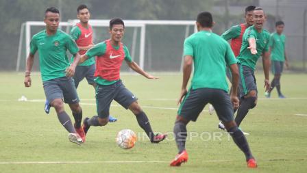 Sejumlah pemain serius mengikuti seleksi tahap ketiga Timnas Indonesia U-22.