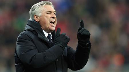 Carlo Ancelotti mengaku bahagia dan tidak ingin meninggalkan Napoli. A. Beier/Getty Images. - INDOSPORT