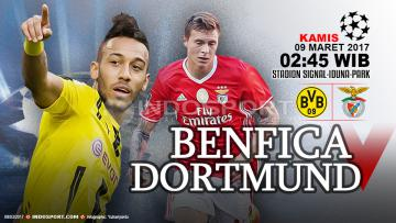 Prediksi Borussia Dortmund vs Benfica.