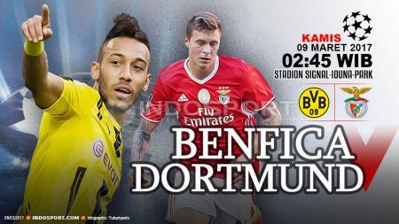 Prediksi Borussia Dortmund vs Benfica. - INDOSPORT