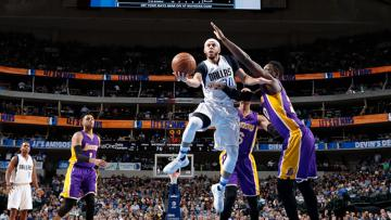 Los Angeles Lakers vs Dallas Mavericks.