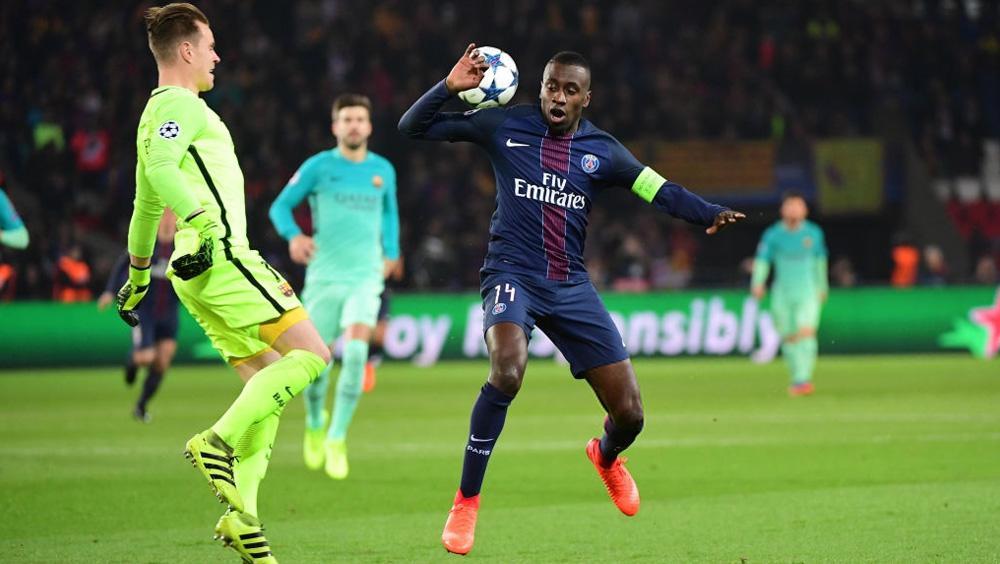 Blaise Matuidi (PSG) vs Barcelona. Copyright: Dave Winter/Icon Sport via Getty Images