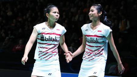 Greysia Polii dan Rizki Amelia Pradipta (All England Open 2017). - INDOSPORT
