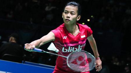 Tunggal putri Indonesia, Dinar Dyah Ayustine. - INDOSPORT