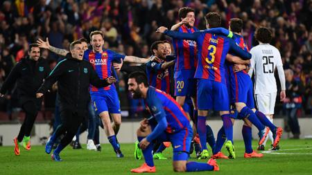 FC Barcelona vs Paris Saint-Germain. - INDOSPORT