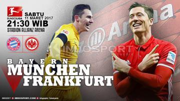 Prediksi Bayern Munchen vs Eintracht Frankfurt.