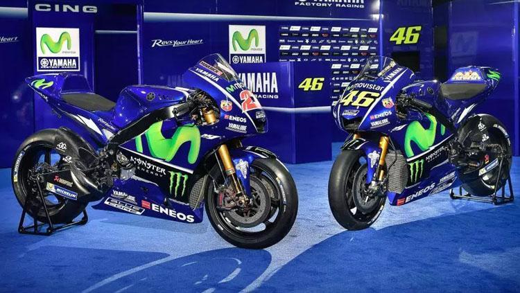 Penampakan motor Yamaha Copyright: Racemotogp.com