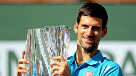 Petenis Serbia, Novak Djokovic. - INDOSPORT