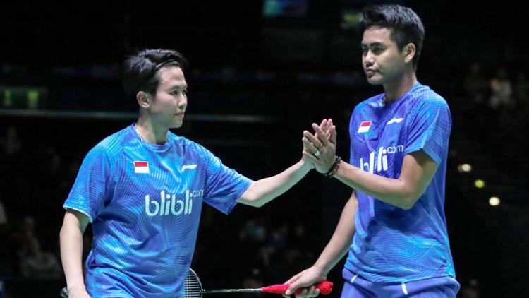 Tontowi Ahmad dan Liliyana Natsir (All England Open 2017). Copyright: Humas PBSI