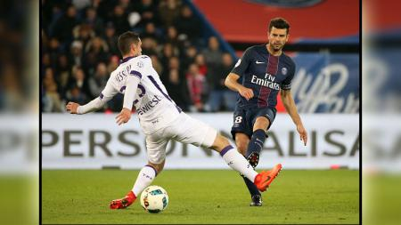 Pemain Paris Saint-Germain, Thiago Motta. - INDOSPORT