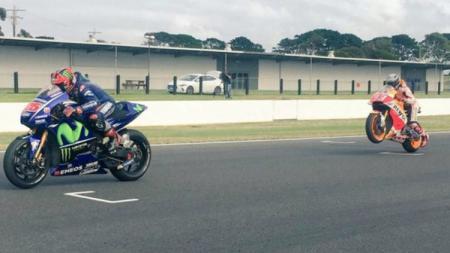 Pembalap andalan Yamaha, Maverick Vinales. - INDOSPORT