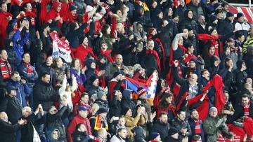Fans Manchester United.