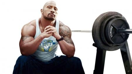 Pegulat Smackdown, Dwayne Johnson. - INDOSPORT
