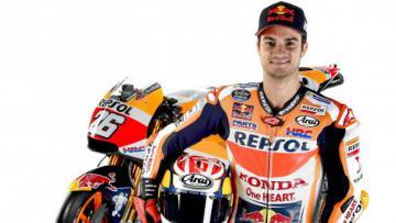 Pembalap Repsol Honda, Dani Pedrosa.