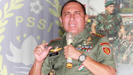 Ketua Umum PSSI, Edy Rahmayadi.