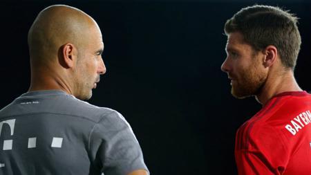 Pep Guardiola memprediksikan mantan anak asuhnya sebagai pelatih hebat dikemudian hari. - INDOSPORT