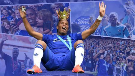 Didier Drogba pada hari ini berulang tahun. - INDOSPORT